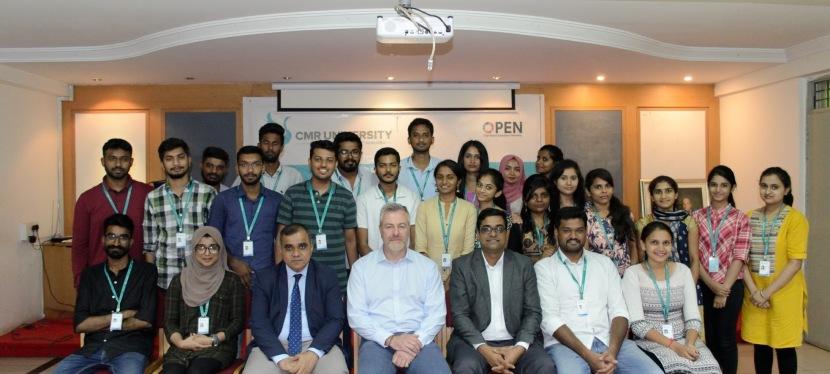 Visit to CMR University,Bangalore